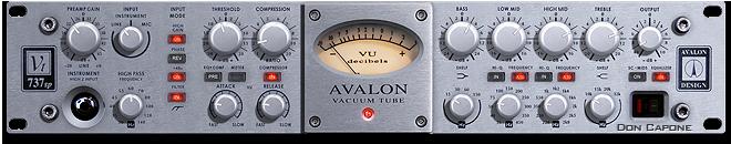 Voice Overs Avalon Vt 737sp Over Talent